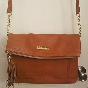 Brown Reaction bag by Kenneth Cole
